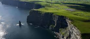 visit the cliffs of moher while visiting the burren